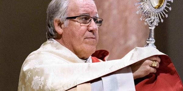 Adoració perpètua a l'Església del Cor de Maria de Sabadell
