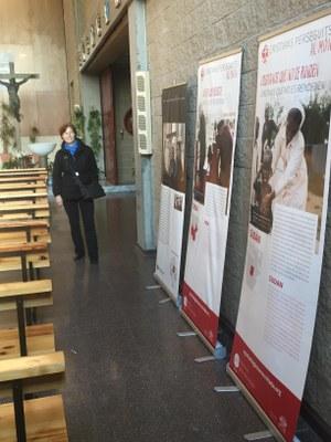 Exposició a la parròquia de Sant Pau de Terrassa