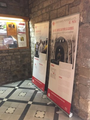 Exposició a Sant Pere de Rubí