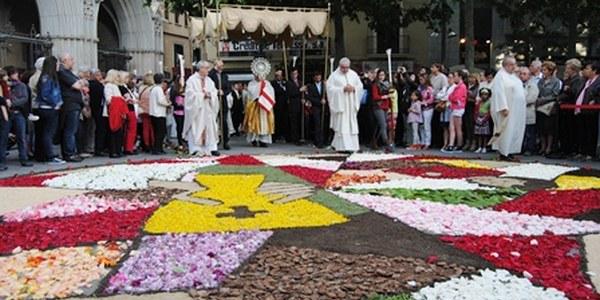 Celebració del Corpus a la Catedral