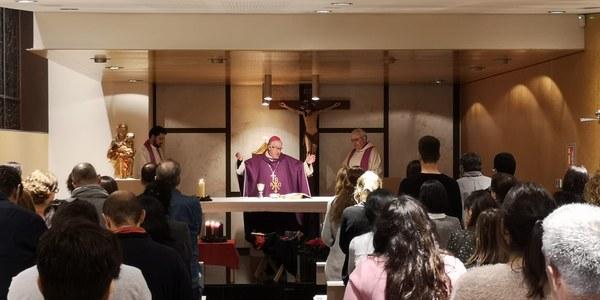 Celebració del Nadal a l'Escola Mare de Déu de la Salut