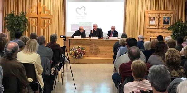 Conferència Càritas Diocesana sobre l'espiritualitat dels voluntaris i professionals