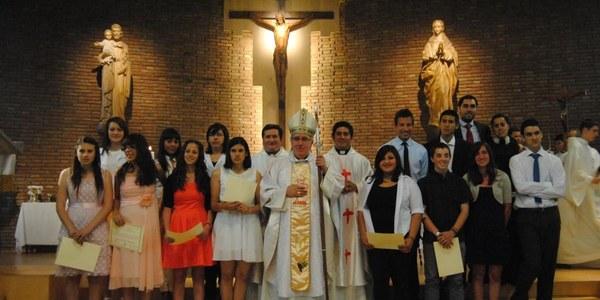 Confirmacions a la parròquia del Sagrat Cor de Sabadell