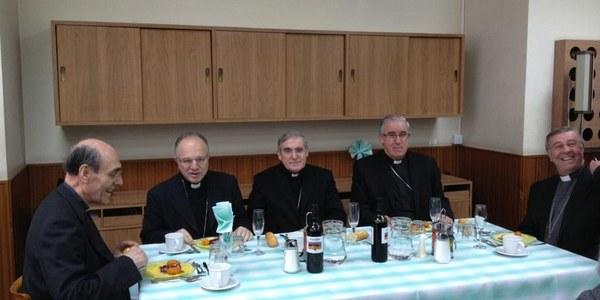El Bisbe de Terrassa participa en la celebració de Sant Josep Oriol a la residència Sacerdotal