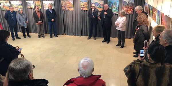 Exposició d'en Salvador Arís a benefici de Càritas