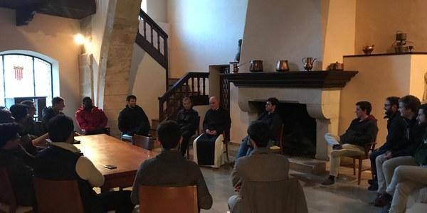 Finalitza la primera convivència dels Seminaristes de propedèutic de Catalunya