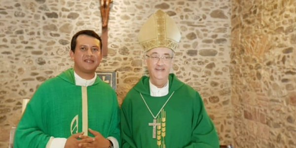 Inici de ministeri de Mn. Alejandro Cantero a Alfou, Sant Pere i Sant Antoni de Vilamajor