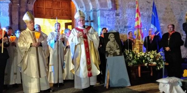 Les relíquies de Santa Bernardette arriben a Terrassa (2)