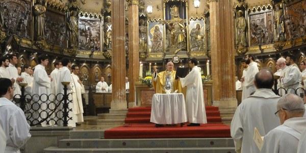 Missa Crismal a la Catedral de Terrassa