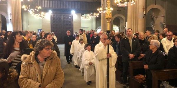 Missa Estacional a Parets del Vallès
