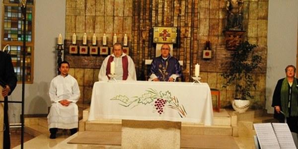 Mons. Saiz Meneses celebra la Missa el Dia del Seminari per TVE2