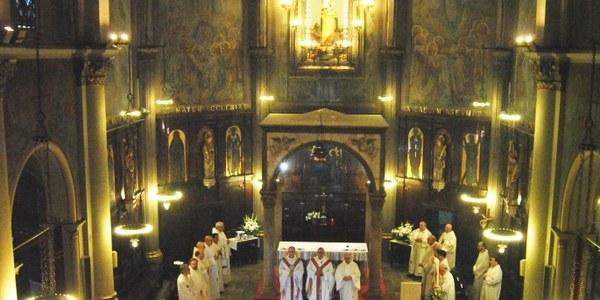 Mons. Saiz Meneses presideix l'Aplec de la Salut