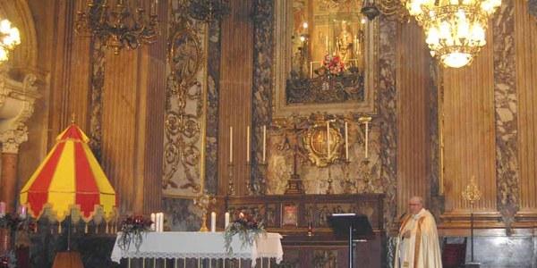 Mons. Saiz Meneses presideix la Vetlla de la Immaculada