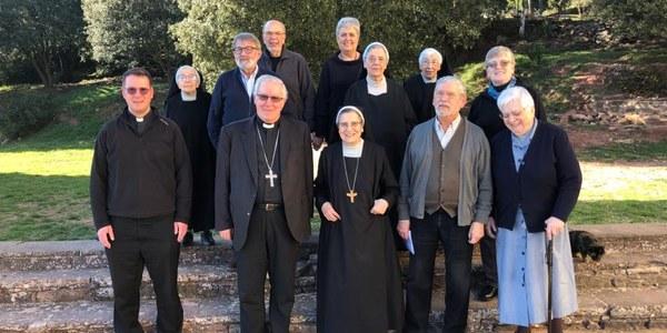 Mons. Saiz Meneses visita el Santuari de Puiggraciós