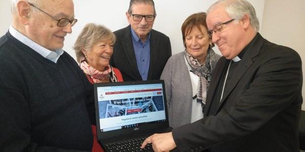 Nota de Premsa sobre el llançament web i nous canals Càritas Diocesana de Terrassa