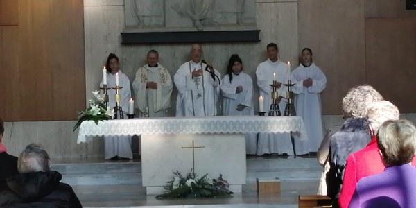 Presentació de Mn. Carles Milà com a administrador de Sant Pau