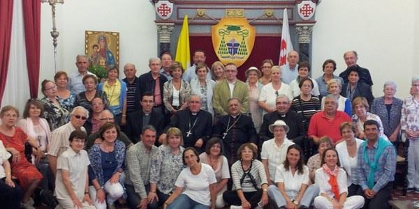 Primera pelegrinació diocesana a Terra Santa