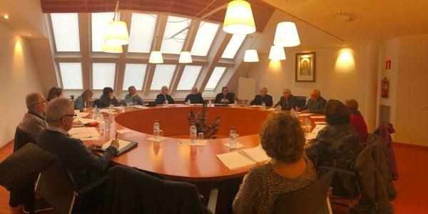 Reunió del Consell diocesà de Càritas