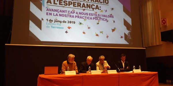 Terrassa acull la trobada catalanobalear de Justícia i Pau