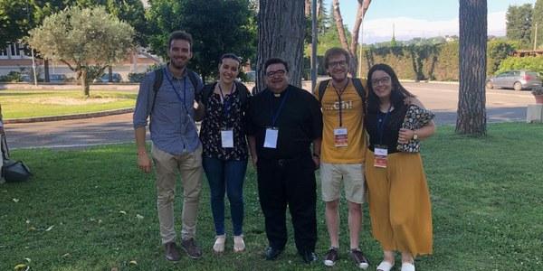 Un jove de Terrassa participa en Fòrum internacional de joves a Roma.