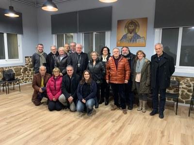 Reunió amb els equips d'acollida CPM, prebaptismals, animació litúrgica i formació.