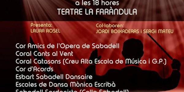 Concierto solidario de Manos Unidas y Cáritas Sabadell
