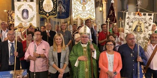 50 aniversario de la hermandad Virgen de la Luna en Rubí