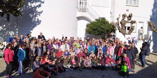 Caminata solidaria de Cáritas en Terrassa
