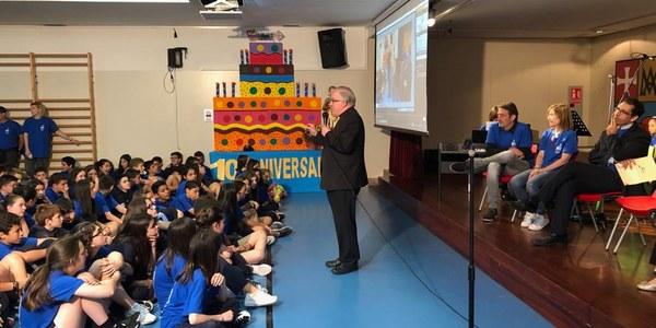 Celebración de la fiesta de la Escuela Mare de Déu de la Salut