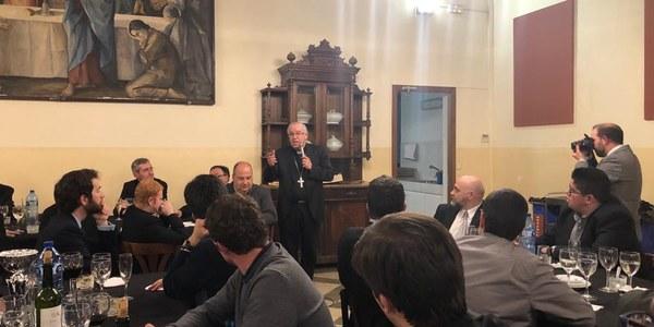 Ecuentro de los seminaristas de Catalunya
