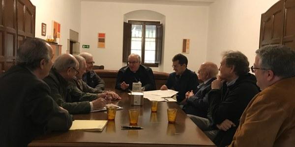 El Consejo Diocesano de Asuntos Económicos se reune en el Casal de la Visitació