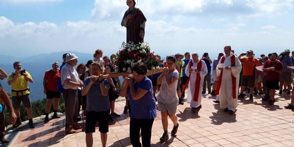 Fiesta de San Lorenzo en La Mola