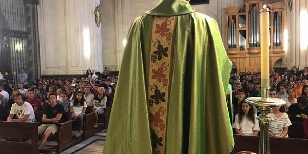 Finalización de la peregrinación diocesana de jóvenes