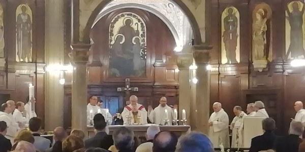 Mons. Saiz Meneses celebra el Aplec de la Salut