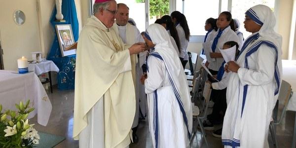 Mons. Saiz Meneses celebra Santa Teresa de Calcuta