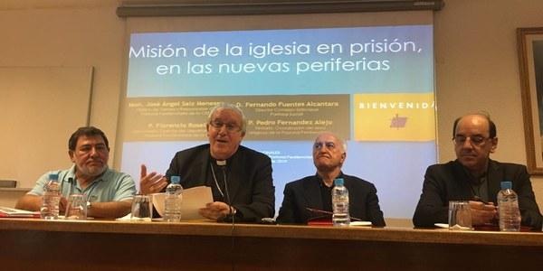 Mons. Saiz Meneses inaugura las Jornadas Nacionales de sacerdotes y delegados de pastoral penitenciaria