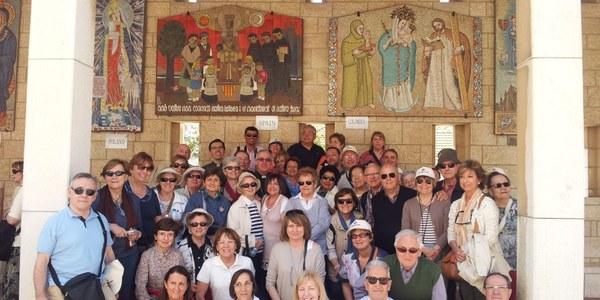 Peregrinación diocesana a Tierra Santa
