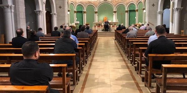 Retiro de inicio de curso del clero