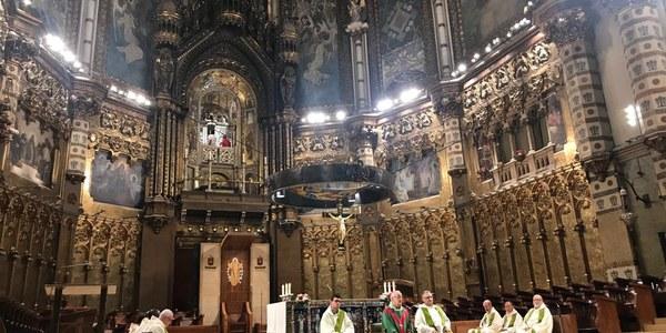 Romería a Montserrat del Arciprestazgo de Terrassa