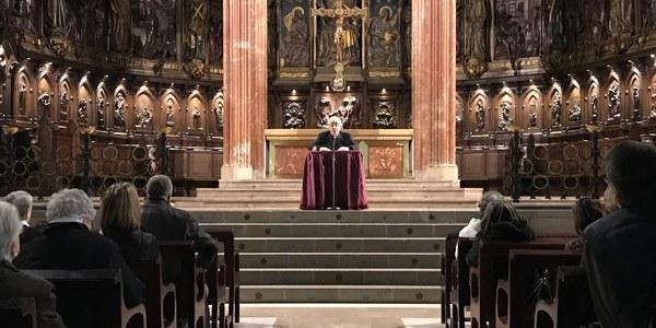 Segunda conferencia cuaresmal en la Catedral