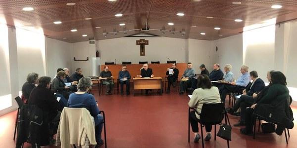 Sesión del Consejo Pastoral Diocesano