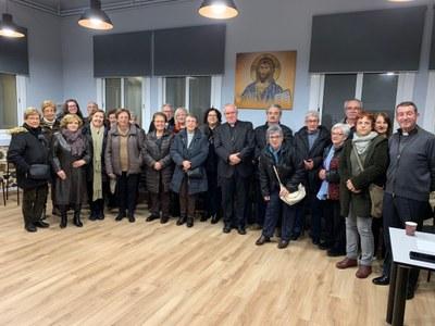 Reunión voluntarios de Cáritas
