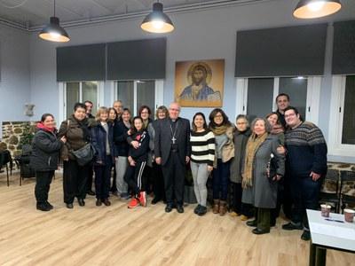 Reunión con las catequistas