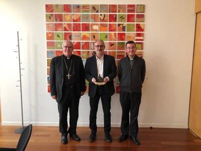 Reunión con el Alcalde, Sr. Josep Monràs