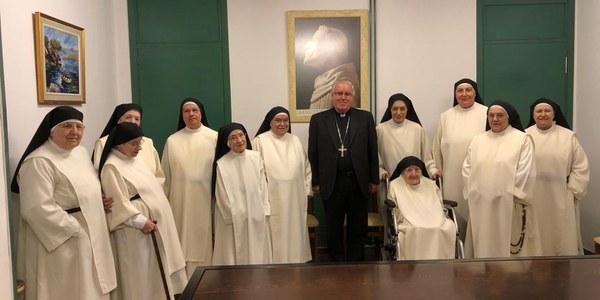 Vísperas solemnes en las Dominicas de Sant Cugat
